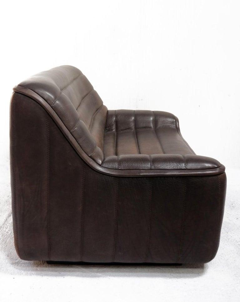 Vintage Design De Sede DS 84 Leather Sofa, Switzerland, 1970s For Sale 2