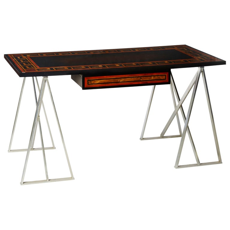 Vintage Desk by Maison Charles at Cost Price For Sale