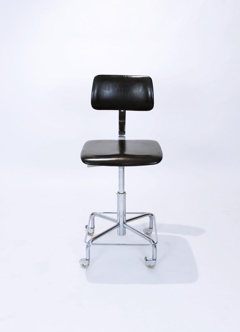 Mid-Century Modern Vintage Desk Chair by Bremshey, Germany, 1960s For Sale