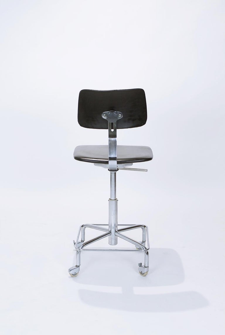 20th Century Vintage Desk Chair by Bremshey, Germany, 1960s For Sale