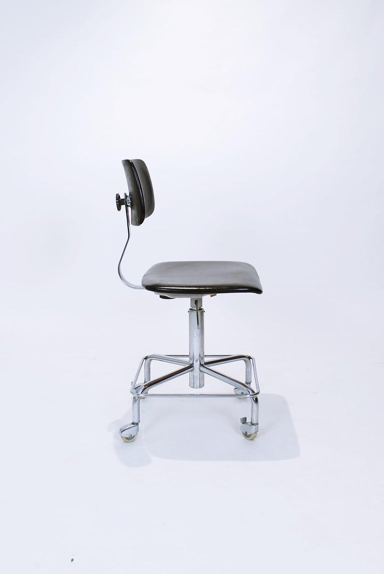 Vintage Desk Chair by Bremshey, Germany, 1960s For Sale 1