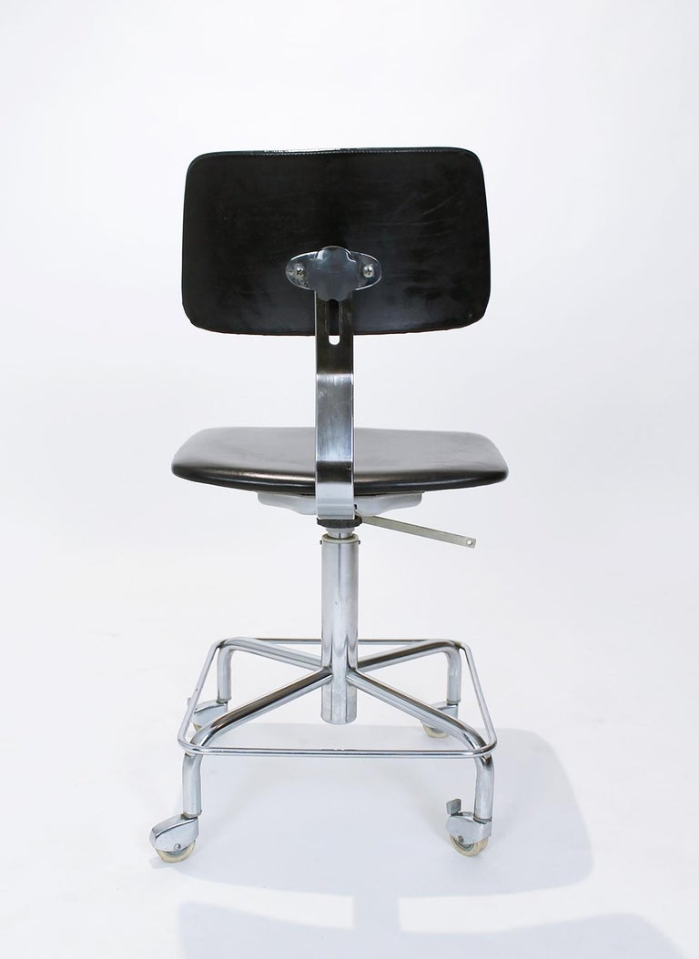 Vintage Desk Chair by Bremshey, Germany, 1960s For Sale 2