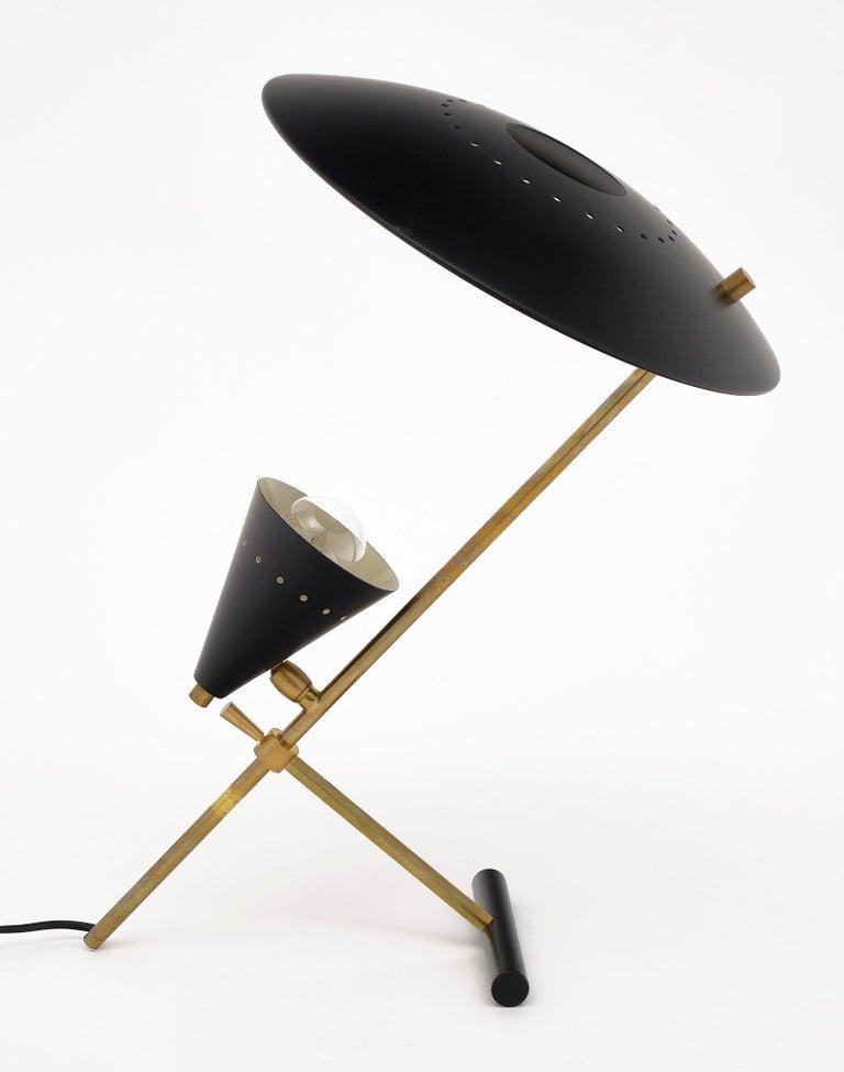 Modern Vintage Desk Lamp Attributed to Stilnovo For Sale