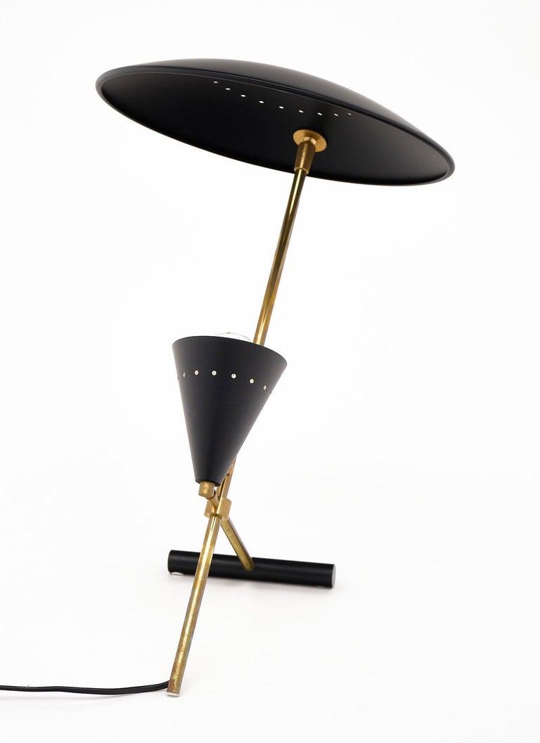 Vintage Desk Lamp Attributed to Stilnovo For Sale 1