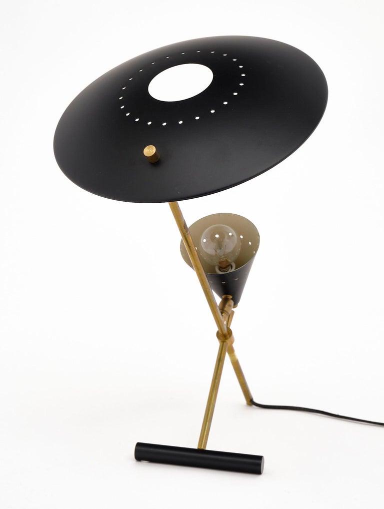 Vintage Desk Lamp Attributed to Stilnovo For Sale 2