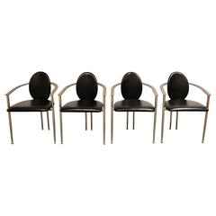 Vintage Dining Chairs by Belgo Chrom, Set of 4