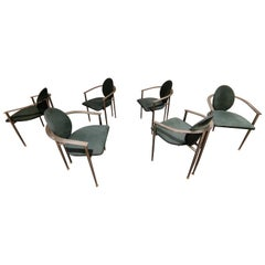 Vintage Dining Chairs by Belgo Chrom, Set of 6