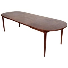 Vintage Dining Table 10-12-Seat Nils Jonsson Troeds Swedish Scandinavian