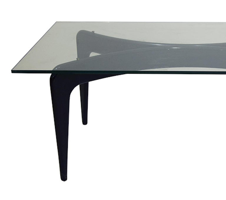 Vintage Dining Table by Giò Ponti for Fontana Arte, circa 1949 In Good Condition For Sale In London, GB