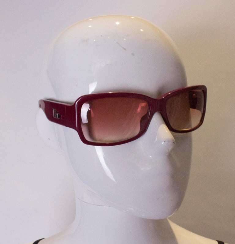 Brown Vintage Dior Sunglasses For Sale