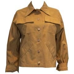 Vintage Diorling Christian Dior Ultra Suede Jacket