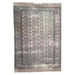 Vintage Distressed Pakistani Rug