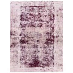 Vintage Distressed Persian Rug