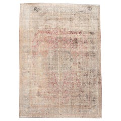 Vintage Distressed Wool Rug