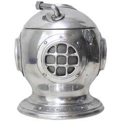 Vintage Diver's Helmet Ice Bucket