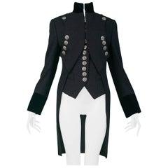 Vintage Dolce & Gabbana Grey Military Vest & Jacket AW 1993