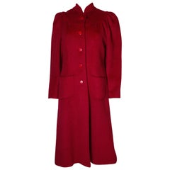 Vintage Donald Campbell Red Coat