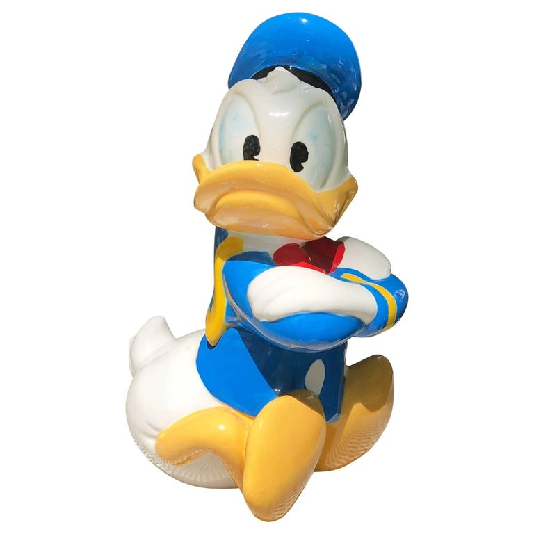 5e82821f8 Vintage Donald Duck Cookie Jar For Sale at 1stdibs