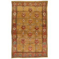 Vintage Donegal Arts & Crafts Style Wool Rug