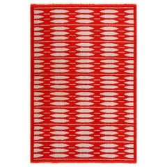 Vintage Double-Sided Scandinavian Rug. Size: 5 ft x 7 ft 5 in (1.52 m x 2.26 m)
