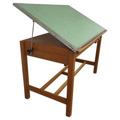 Vintage Drafting Table Standing Desk