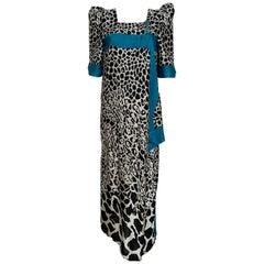 Vintage Dress Haut Couture Silk