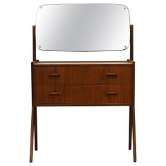 Vintage Dressing Table 1960-1970 Teak