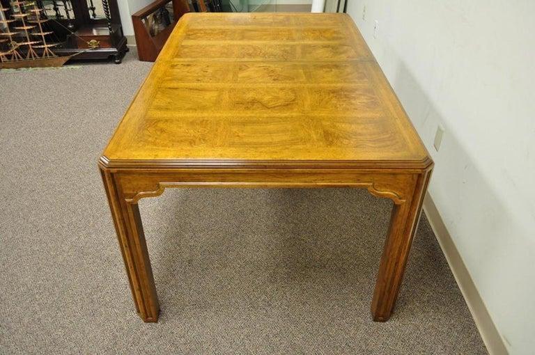 vintage drexel heritage dining room set | Vintage Drexel Heritage Sketchbook Dining Room Table ...