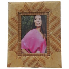 Vintage Dried Leaves Decorative Picture Frame