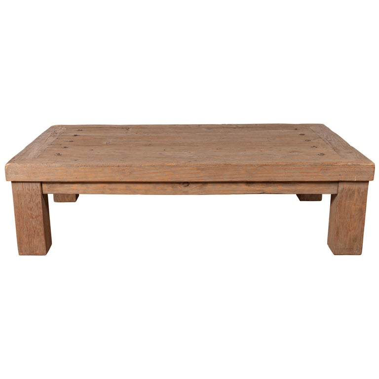 Awe Inspiring Vintage Driftwood Midcentury Coffee Table From Mexico With Uwap Interior Chair Design Uwaporg