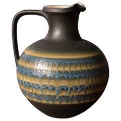 Vintage Drip Glaze Ceramic Vase by Haeger Potteries