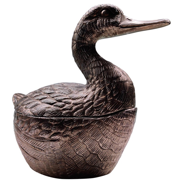 Vintage Duck Ice Bucket by Mauro Manetti, 1960s For Sale
