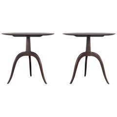 Vintage Dunbar Model #2010 Side Tables by Edward J. Wormley