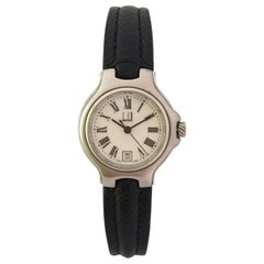 Vintage Dunhill Stainless Steel Ladies Wristwatch