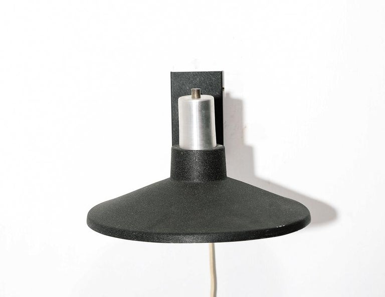 Mid-Century Modern Vintage Dutch Wall Sconce For Sale