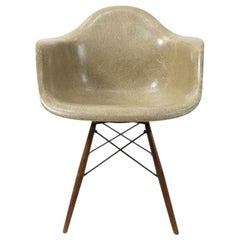 Vintage Eames PAW Swivel Base Armchair, 1940s