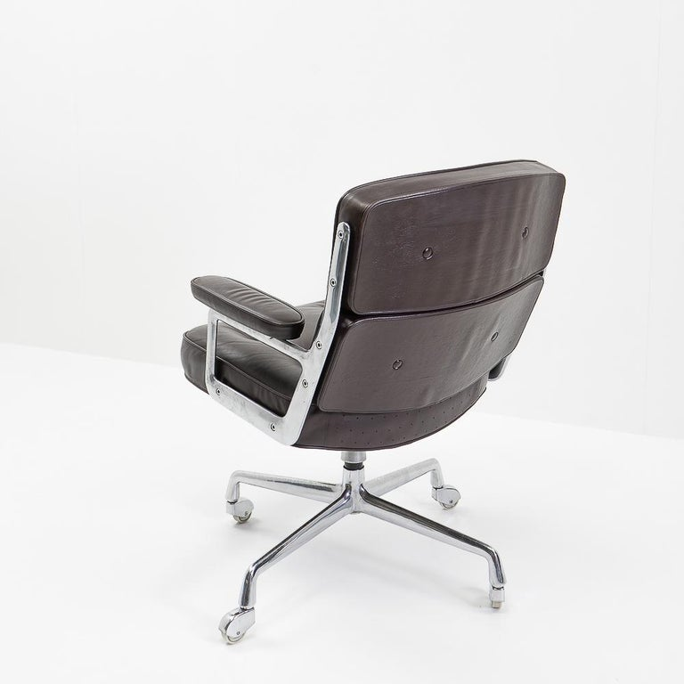 Vintage Eames Time Life Lobby or Executive Chair, 1970s In Good Condition For Sale In Renens, CH
