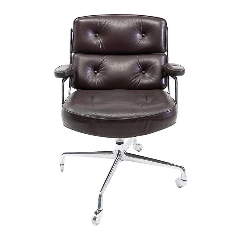 Vintage Eames Time Life Lobby or Executive Chair, 1970s For Sale