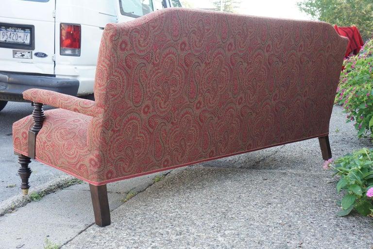 Vintage Edwardian Style Sofa For Sale 1