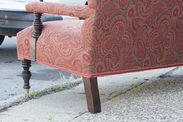 Vintage Edwardian Style Sofa For Sale 2