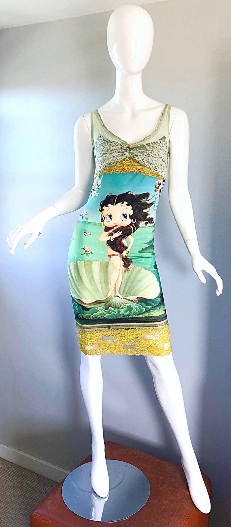 Super rare Limited Edition ELETRA CASADEI vintage 1990s Betty Boop,