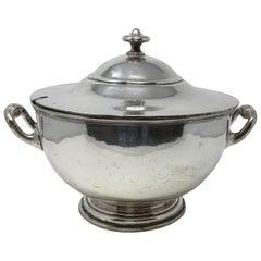 Vintage Elkington Silver Plate Silver Soldered Soup Tureen