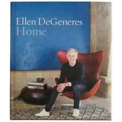Vintage Ellen DeGeneres Home Coffee Table Book