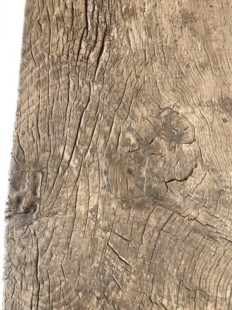 Vintage Elm Bench For Sale 5