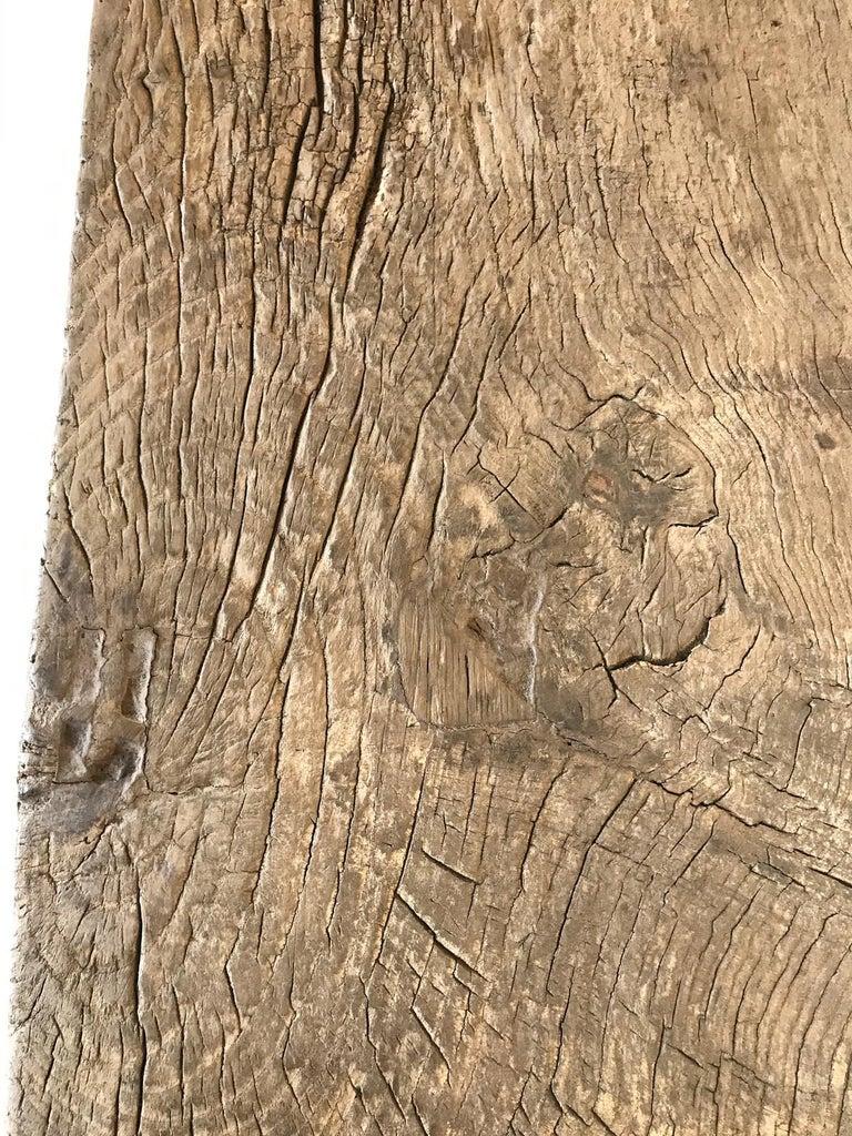 Vintage Elm Bench For Sale 6