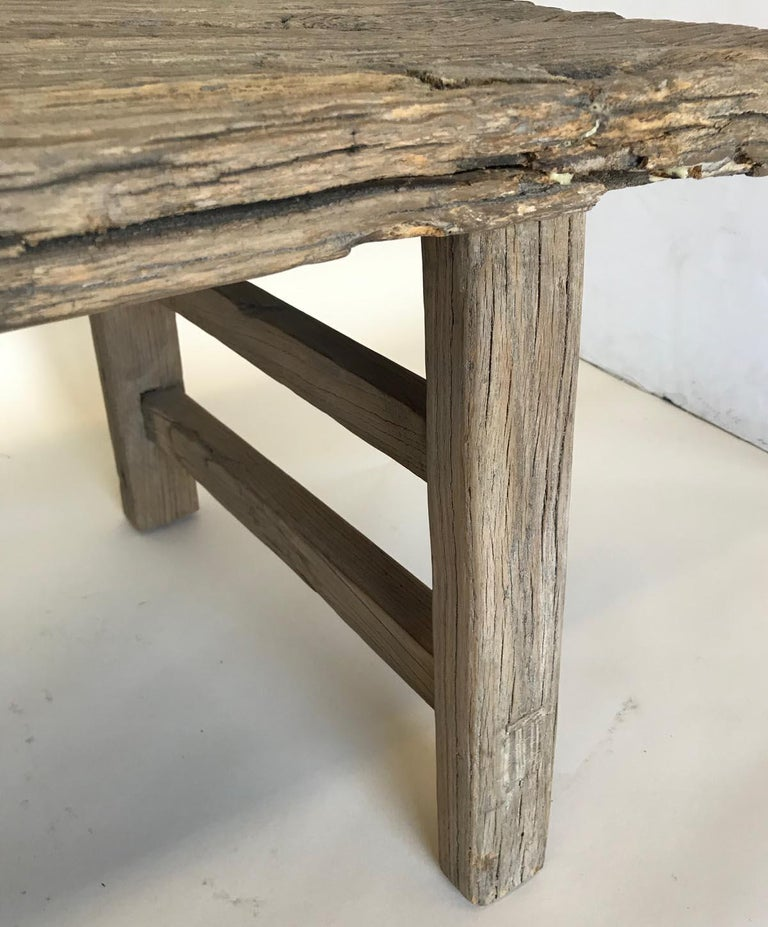Vintage Elm Bench For Sale 2