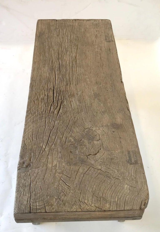 Vintage Elm Bench For Sale 3