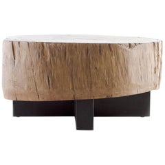 Vintage Elm Center Section Coffee Table