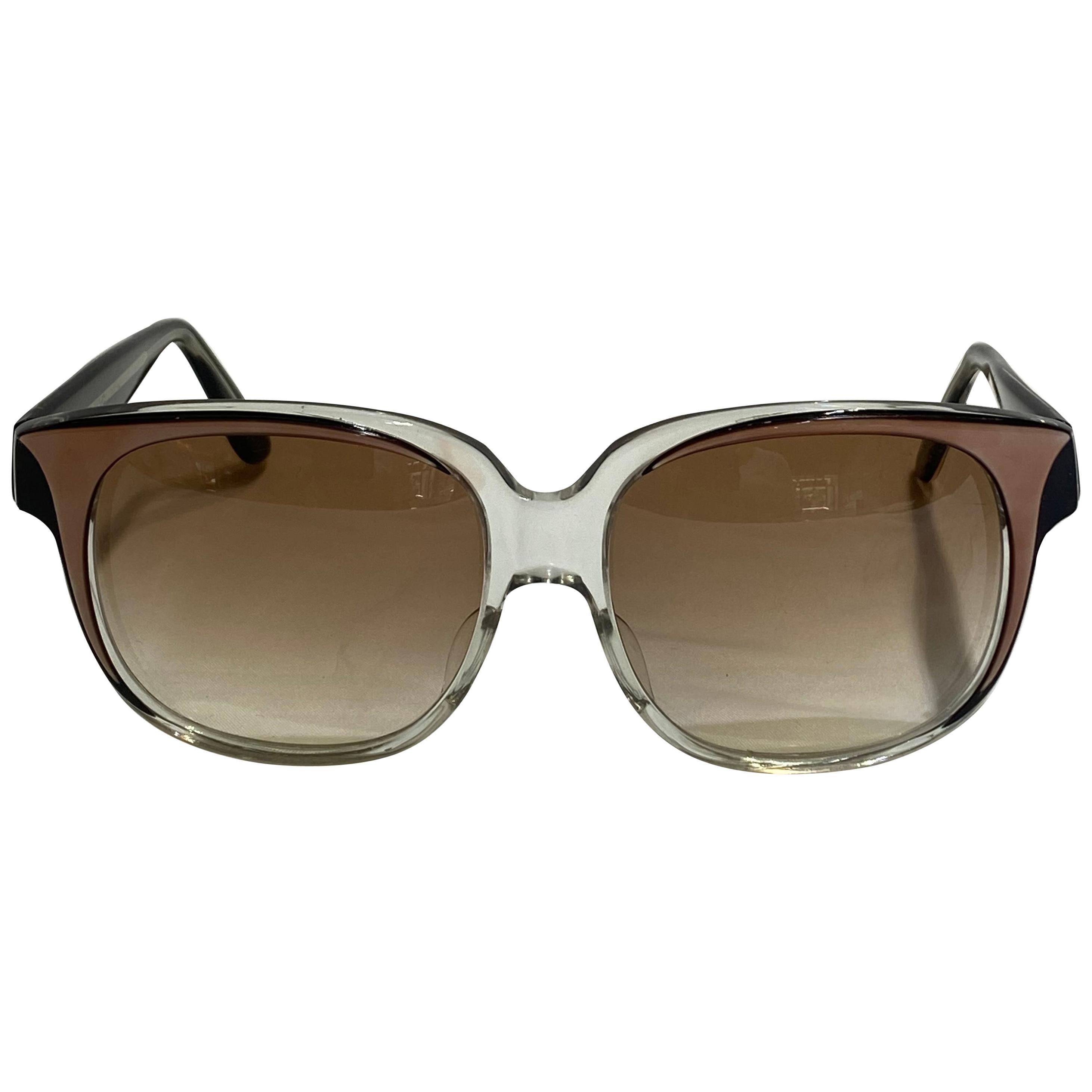 Vintage Emanuel Khanh Paris Square Sunglasses
