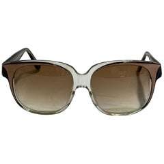 Vintage Emanuel Khanh Paris Square Sunglasses